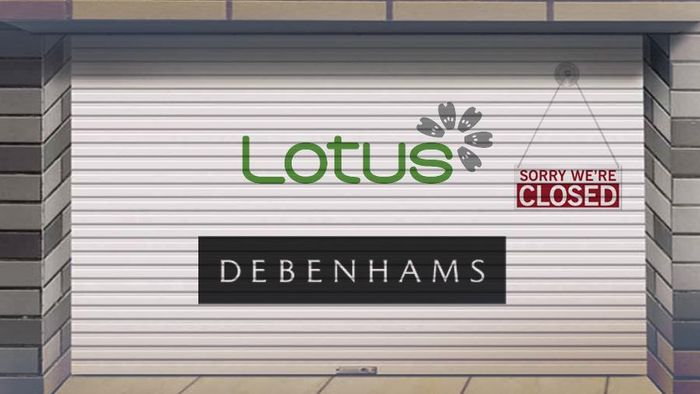 Lotus dan Debenhams Tutup