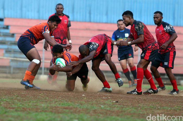 Kejuaraan Nasional Rugby 7s diadakan sebagai test event ajang Asian Games 2018.