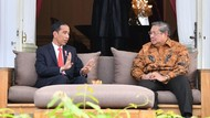 Momen SBY Sampaikan Masukan Langsung ke Presiden Jokowi