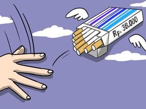 Cukai Naik, Harga Rokok Diusulkan Rp 38.000 per Bungkus