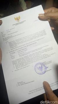 Surat Pemanggilan KPK untuk Sekda DKI Jakarta Saefullah
