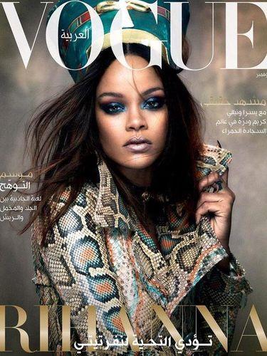 Rihanna Menjelma Jadi Istri Firaun di Cover Vogue Arabia