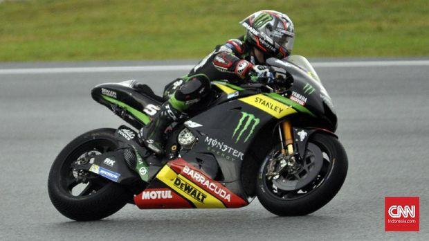 Johann Zarco terjatuh di latihan bebas kedua MotoGP Valencia.