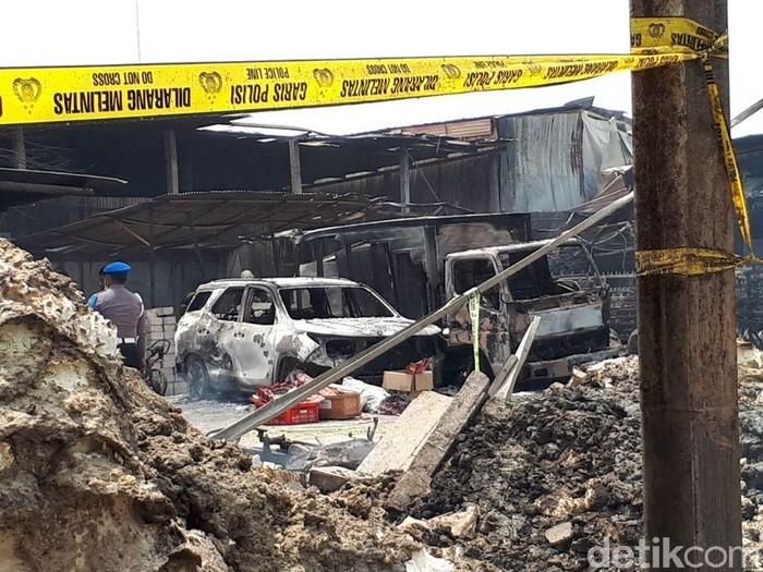 Pasca ledakan parbrik kembang api bisa berefek pada gangguan pendengaran/Foto: Faiq Hidayat/detikcom