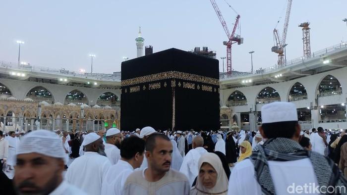 Kakbah di Masjidil Haram Mekah