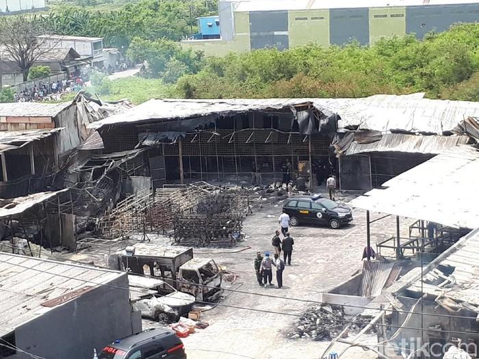 Dampak psikologis menyebarkan video evakuasi korban ledakan di Kosambi/Foto: Faiq Hidayat/detikcom