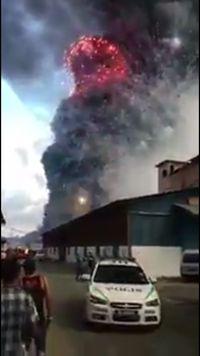 Potongan video yang disebut ledakan Kosambi /