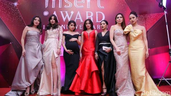 Centilnya Girls Squad di Insert Award 14th Anniversary