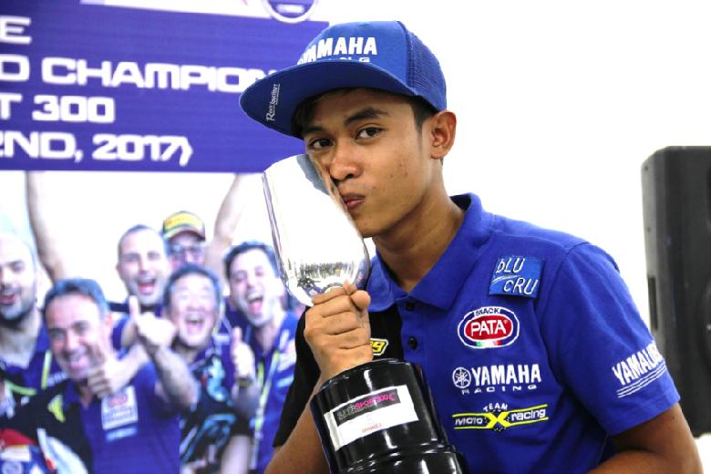 Galang Hendra Menyapa Indonesia Setelah Catat Sejarah di World Supersport 300