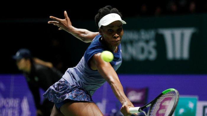 Venus Williams mengalahkan Caroline Garcia (Edgar Su/Reuters)