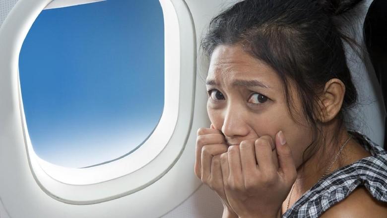 Ilustrasi takut terbang (Thinkstock)