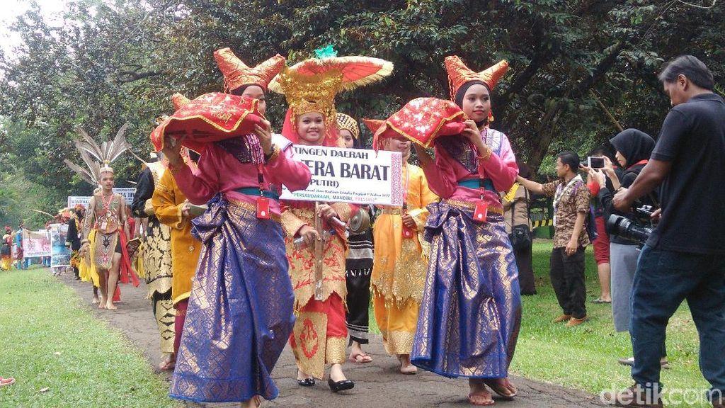 Semarak Karnaval Budaya Pramuka saat Peringati Sumpah Pemuda