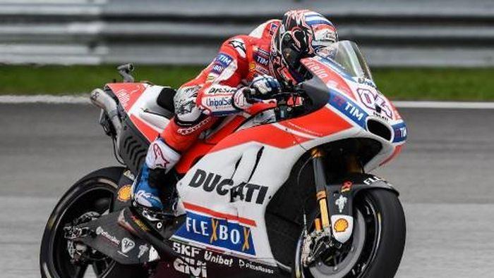 Andrea Dovizioso start ketiga di MotoGP Malaysia (MOHD RASFAN/AFP)