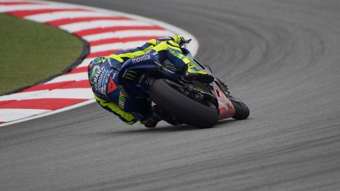 Valentino Rossi tercepat di sesi ketiga latihan bebas MotoGP Malaysia (Mirco Lazzari gp/Getty Images)