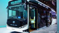 Tak Hanya Mobil, Bus Juga Sudah Pakai Tenaga Hidrogen