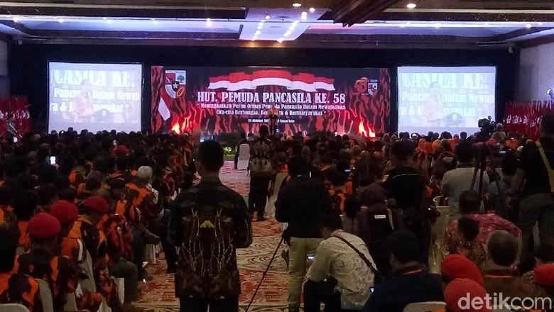 Jokowi Sebut Pemuda Pancasila Ormas yang Spesial