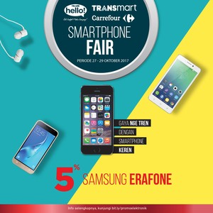 Elektronik, Smartphone, Hingga Laptop Fair di Carrefour