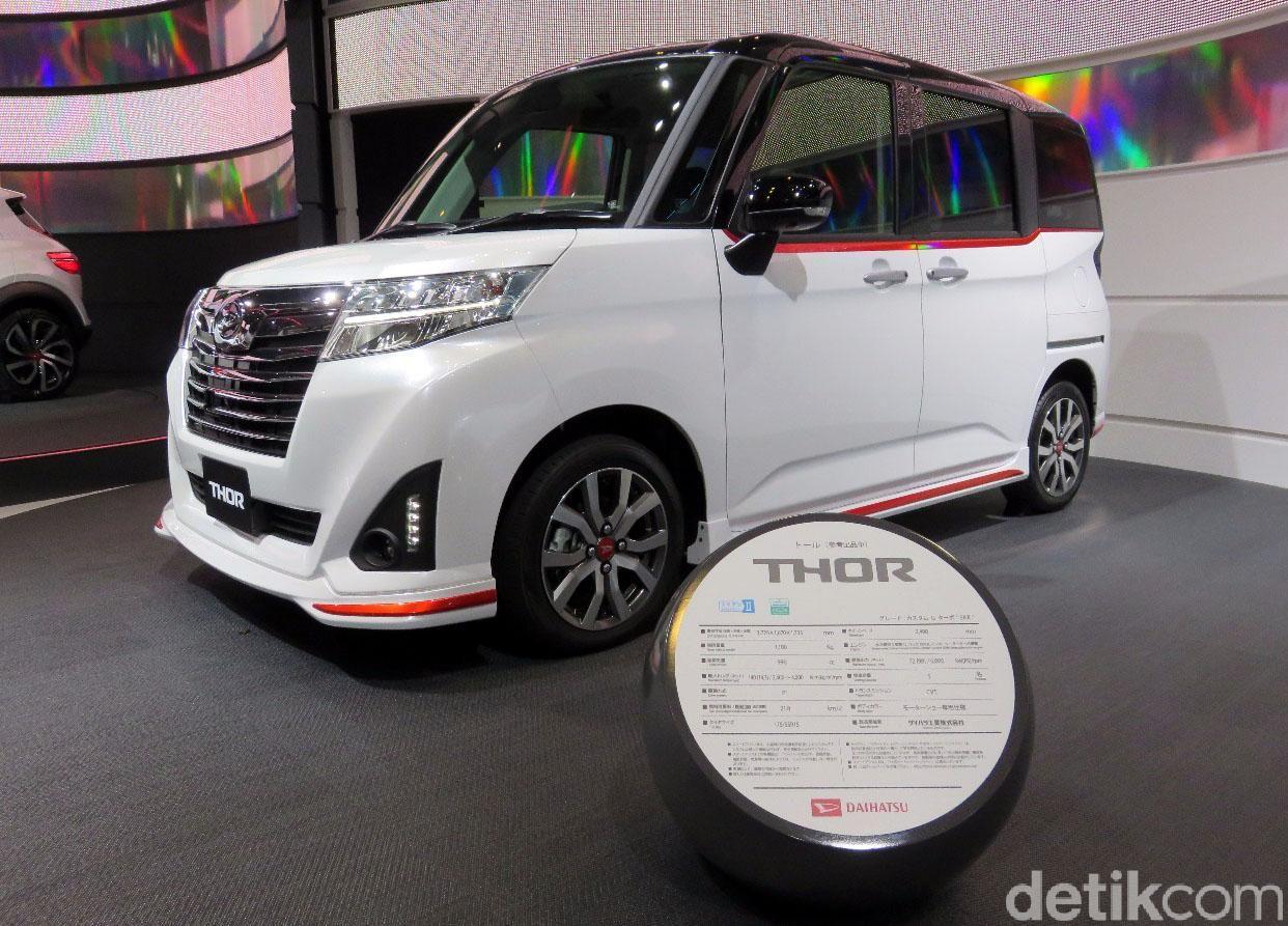 Daihatsu memamerkan mobil konsep yang diberi nama Thor di Tokyo Motor Show 2017.