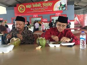 Blusukan Madura, Kali ini Anas Bicara Kekuatan Kuliner