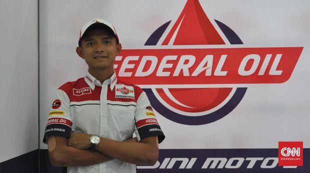 Dimas Ekky Akan Berjuang Sekuat Tenaga di Moto2 2019
