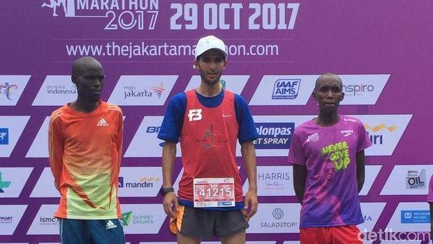 Jakarta Marathon 2017 Selesai, Ini Daftar Pemenangnya