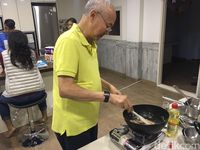 William Wongso Meracik Nasi Goreng di 'Busan One Asia Festival'