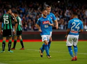 Napoli Tekuk Sassuolo 3-1