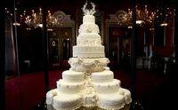 Potongan Kue Pengantin Pangeran William Disajikan di Pembaptisan Pangeran Louis