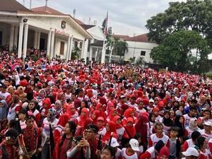 Potret Meriah Parade Kebhinnekaan Nusantara di Bogor
