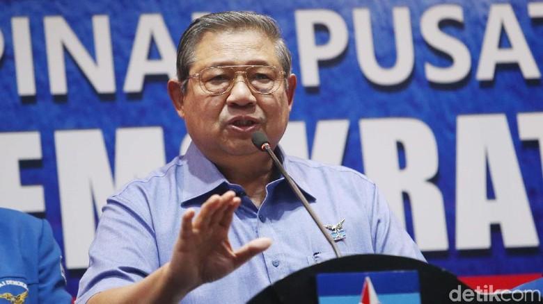 SBY Singgung Kriminalisasi di Pilkada, Minta TNI-Polri-BIN Netral