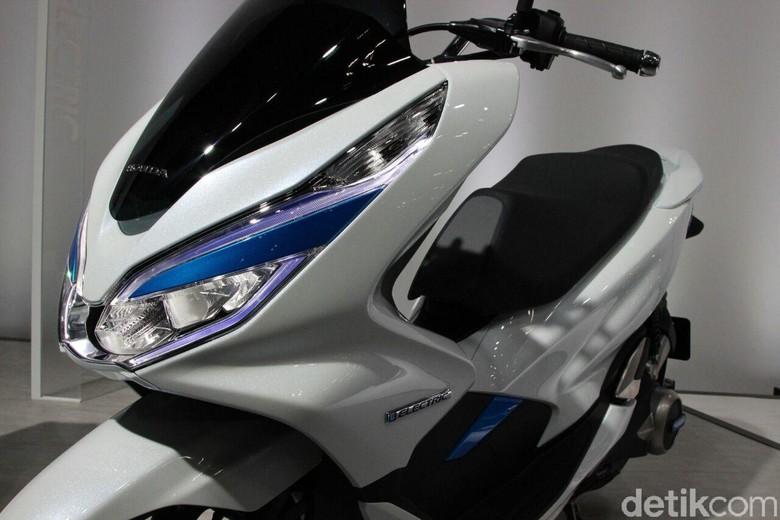 Honda PCX listrik Foto: Rangga Rahadiansyah