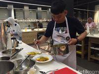 Andri Ali Terpilih Sebagai Pemenang Modena Cook Pro Challenge 2017