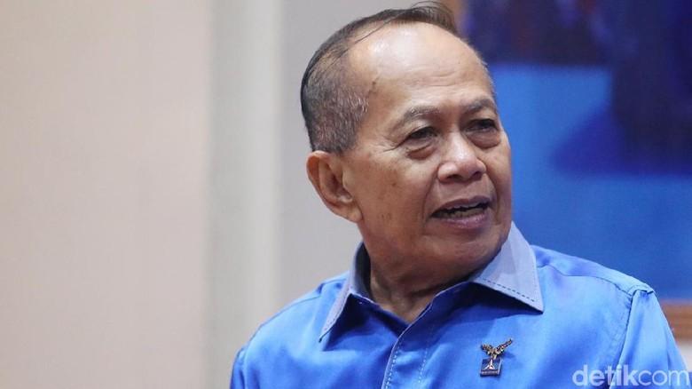 Waketum PD Syarief Hasan Sampaikan Pesan SBY ke Prabowo