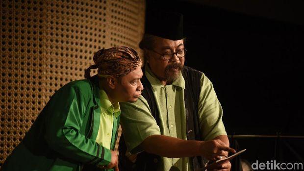Teater Gandrik Sukses Pentaskan Ulang Lakon 'Pensiunan' di Jakarta