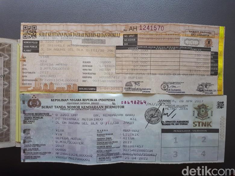 Ilustrasi pajak kendaaran. Foto: Ardan Adhi Chandra/detikFinance