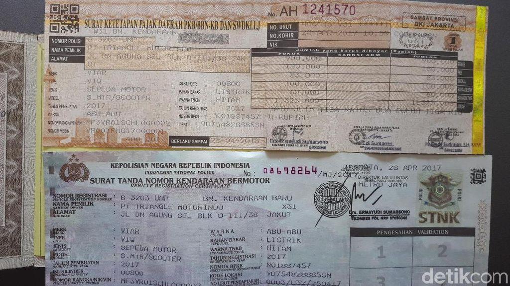 1,3 Juta Kendaraan di Jakarta STNK-nya Mati Selama 10 Tahun