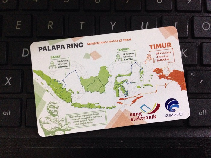Ilustrasi Palapa Ring. Foto: Kominfo