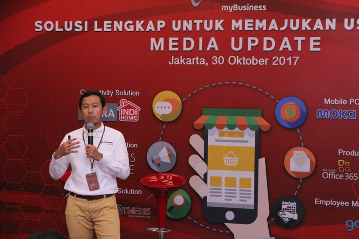 VP Enterprise Mobile Product Marketing Telkomsel Arief Pradetya