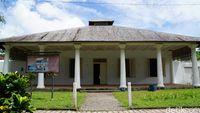 Rumah gubernur VOC (Syanti/detikTravel)
