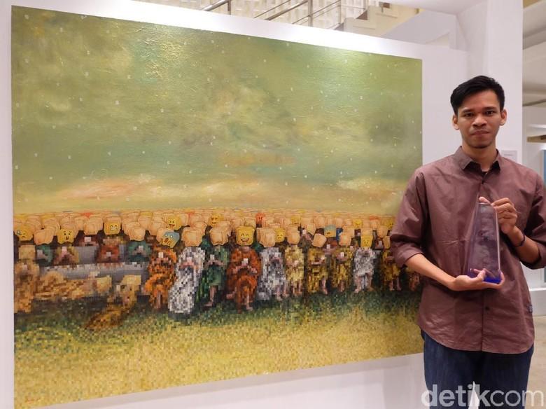 Alvian Anta Putra, Pelukis Muda Yogyakarta yang Makin Bersinar