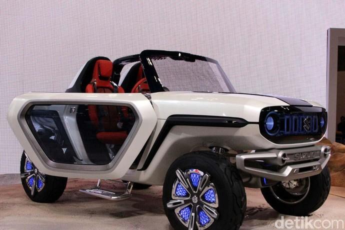Suzuki e-Survivor, Mobil Listrik untuk Bertualang