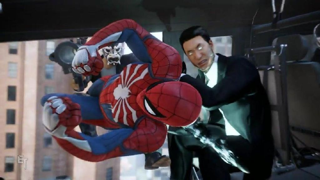 Trailer Baru Game Spider-Man Tampilkan Musuh Mr. Negative