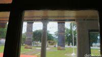 Tulisan di kaca sejak tahun 1831 (Syanti/detikTravel)
