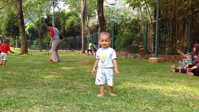 Ilustrasi anak main di taman/ Foto: dok.HaiBunda