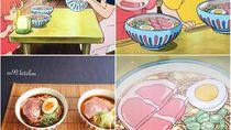 Keren! Akun Instagram Ini Buat Hidangan Berdasarkan Ilustrasi Makanan di Film Anime