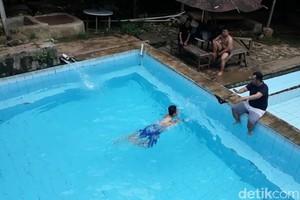 Foto: Kolam Renang No Kaporit di Bandung