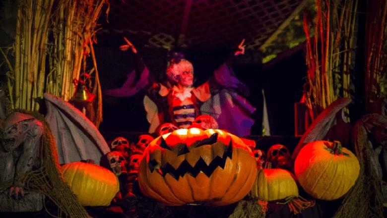 Foto: Perayaan Halloween (Reuters)