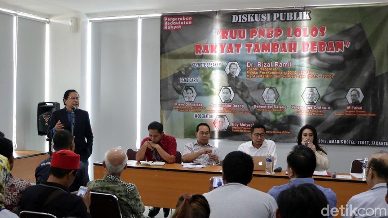 Diskusi Bahas RUU PNBP