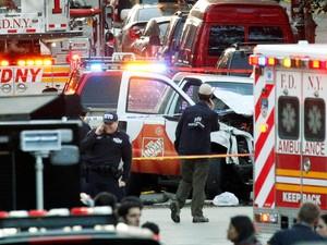 Serangan New York Gunakan Truk Sewaan, Ini Deretan Serangan Serupa