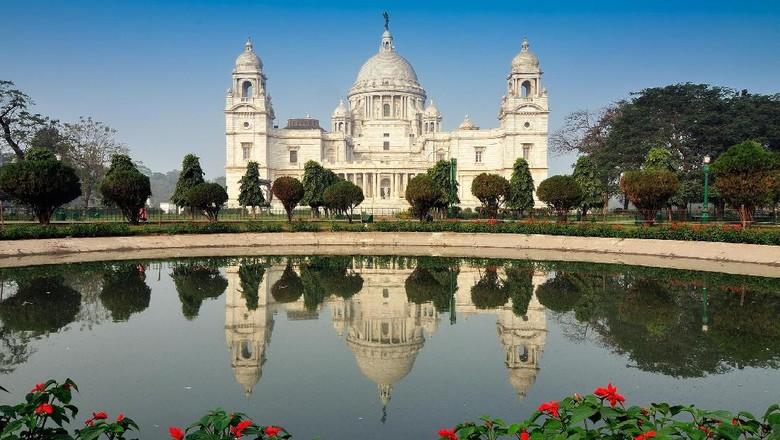 Victoria Memorial, suasana ala Inggris di Kolkata (Thinkstock)